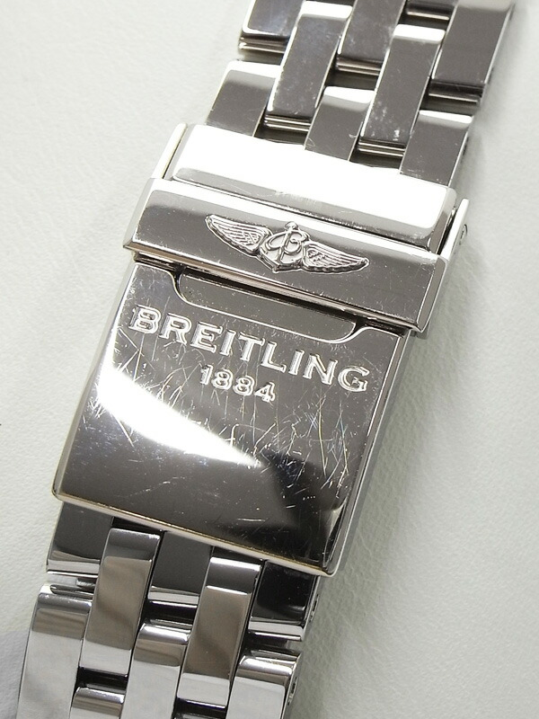 【BREITLING】【'15年購入】ブライトリング『クロノマット41』AB0140 メンズ 自動巻き 6ヶ月保証【中古】