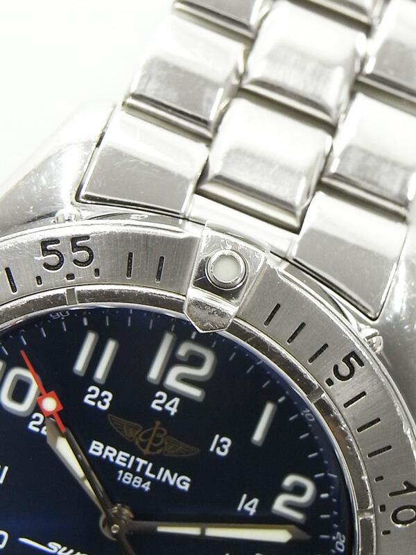【BREITLING】ブライトリング『スーパーオーシャン』A17340 メンズ 自動巻き 1ヶ月保証【中古】