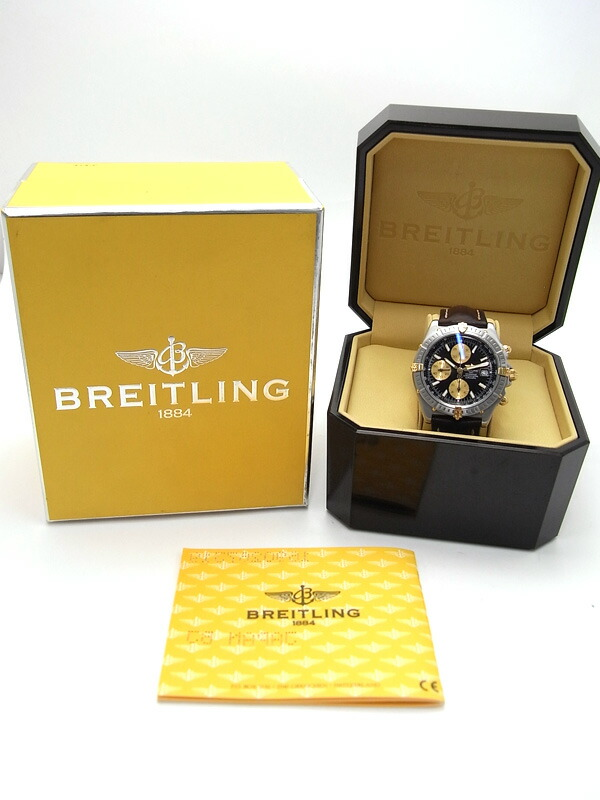 【BREITLING】ブライトリング『クロスウィンド レーシング クロノグラフ』B13355 メンズ 自動巻き 3ヶ月保証【中古】