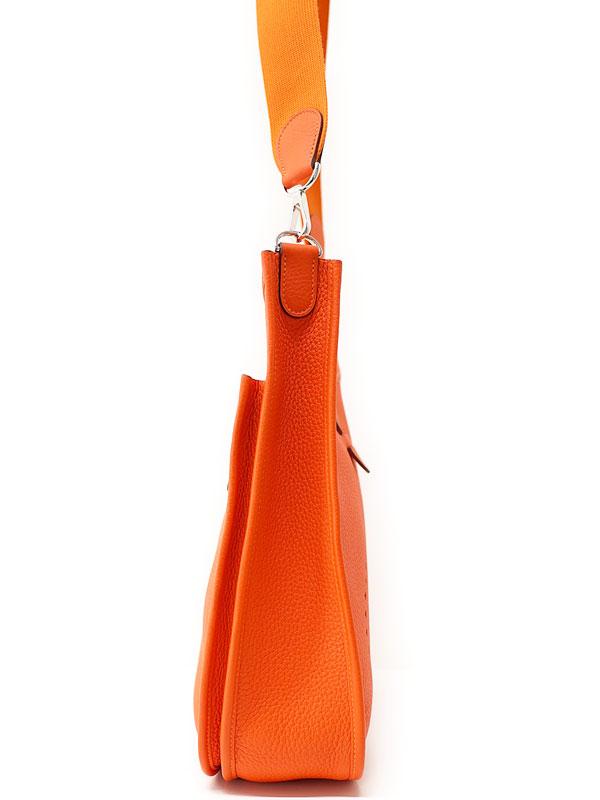 【HERMES】【シルバー金具】エルメス『エヴリン3GM』Q刻印 2013年製 レディース ショルダーバッグ 1週間保証【中古】