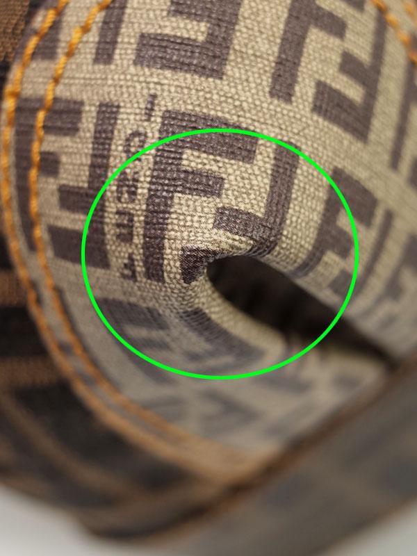 【FENDI】フェンディ『ズッカ柄×ズッキーノ柄 ミニボストンバッグ』8BL097 レディース ハンドバッグ 1週間保証【中古】