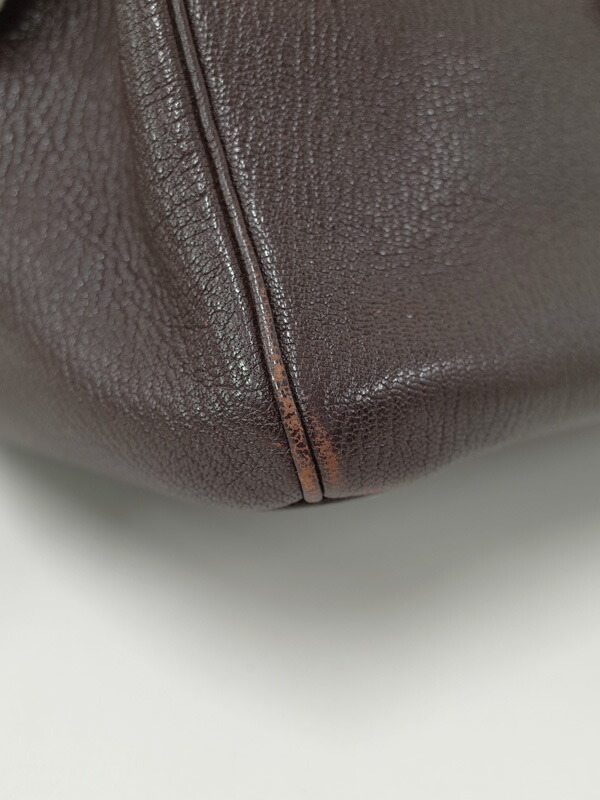 【HERMES】【シルバー金具】エルメス『オータクロア32』F刻印 2002年製 レディース ハンドバッグ 1週間保証【中古】