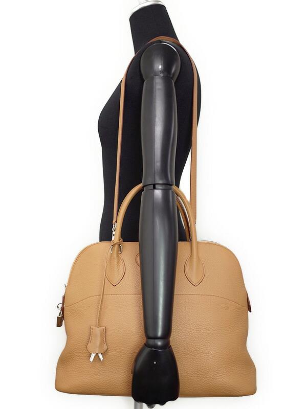 【HERMES】【シルバー金具】エルメス『ボリード35』G刻印 2003年製 レディース 2WAYバッグ 1週間保証【中古】