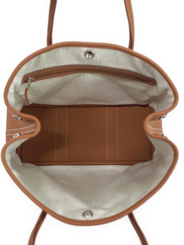 【HERMES】エルメス『ガーデンパーティ30』051568ck-37 T刻印 2015年製 レディース ハンドバッグ 1週間保証【中古】