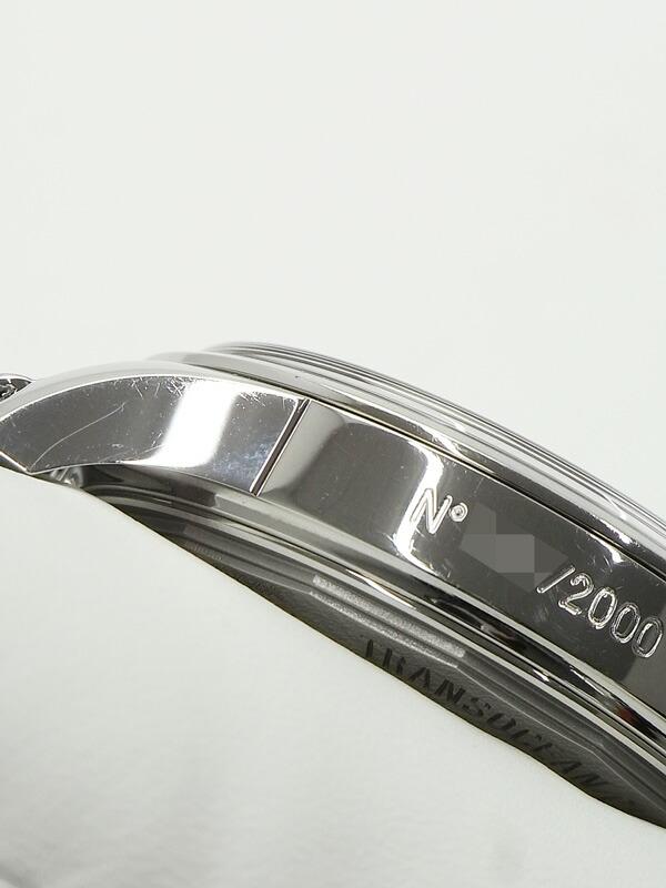 【BREITLING】【2000本限定】【裏スケ】ブライトリング『トランスオーシャン クロノグラフ ミッドナイトブルー』AB0151 メンズ 自動巻き 6ヶ月保証【中古】