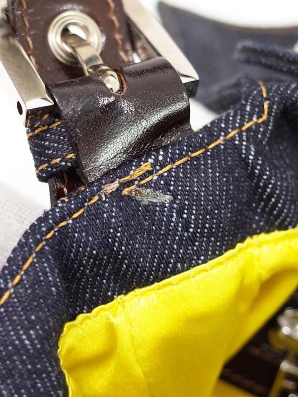 【FENDI】【RICAMI】フェンディ『マンマバケットバッグ』26424 レディース セミショルダーバッグ 1週間保証【中古】
