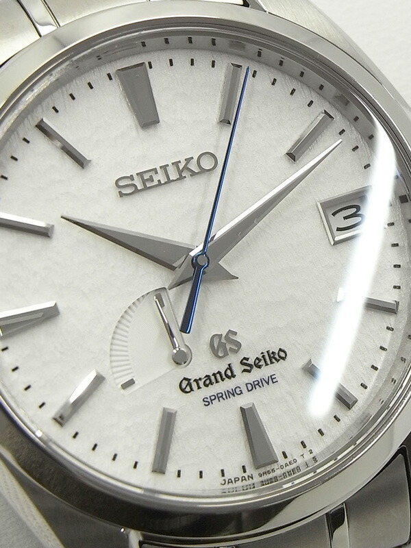 【SEIKO】【裏スケ】セイコー『グランドセイコー』SBGA011 メンズ スプリングドライブ 3ヶ月保証【中古】