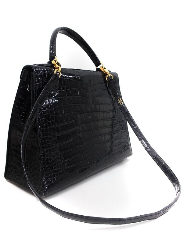 【HERMES】【ゴールド金具】エルメス『ケリー28 外縫』Z刻印 1996年製 レディース 2WAYバッグ 1週間保証【中古】