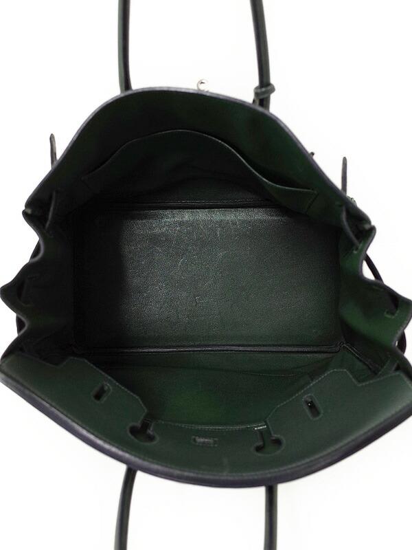 【HERMES】【シルバー金具】エルメス『バーキン35』G刻印 2003年製 レディース ハンドバッグ 1週間保証【中古】