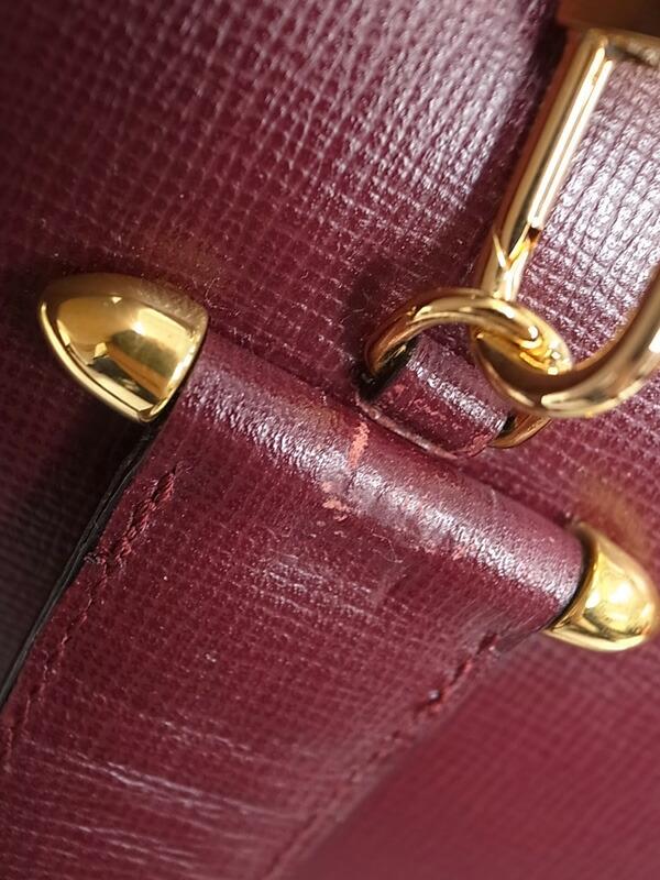 【Cartier】カルティエ『2wayハンドバッグ』レディース 1週間保証【中古】