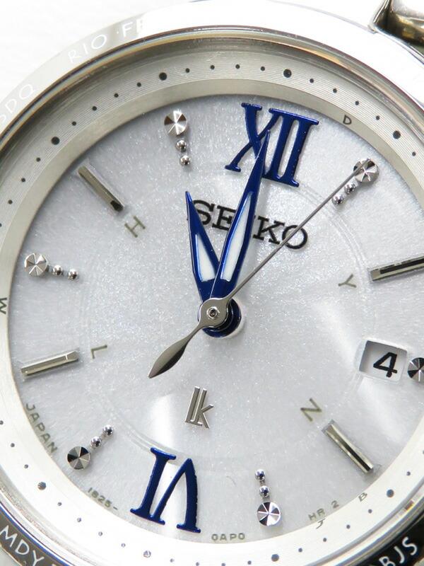 【SEIKO】【LUKIA】セイコー『ルキア』SSQV013 レディース ソーラー電波クォーツ 1週間保証【中古】