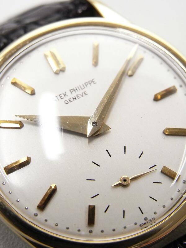 【PATEK PHILIPPE】【アンティーク】【クンロク】【アーカイブ付】【OH・仕上済】パテックフィリップ『カラトラバ』96 '42年製 メンズ 手巻き 6ヶ月保証【中古】