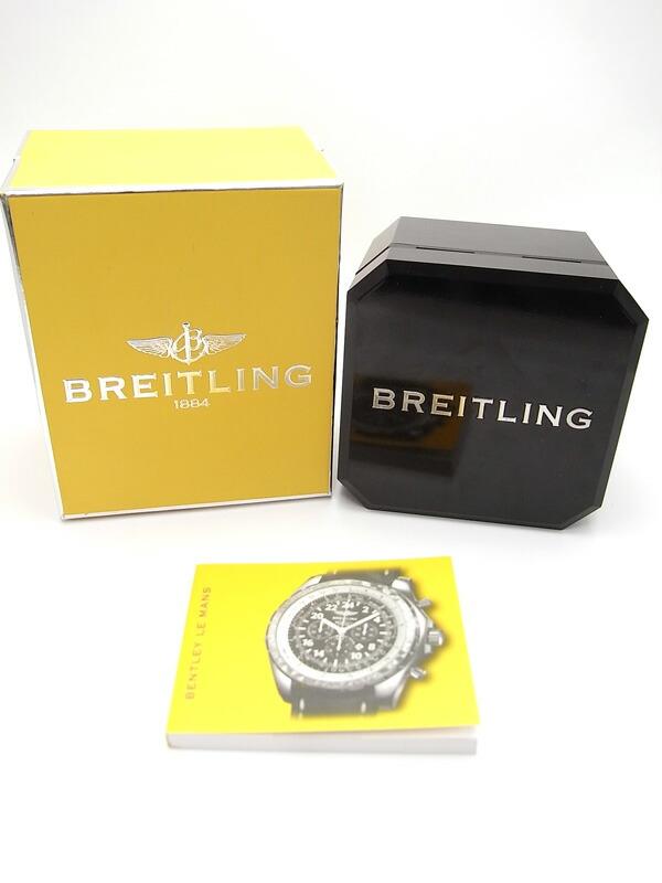 【BREITLING】【1000本限定】【仕上済】ブライトリング『ベントレー ル・マン クロノグラフ』A22362 メンズ 自動巻き 6ヶ月保証【中古】