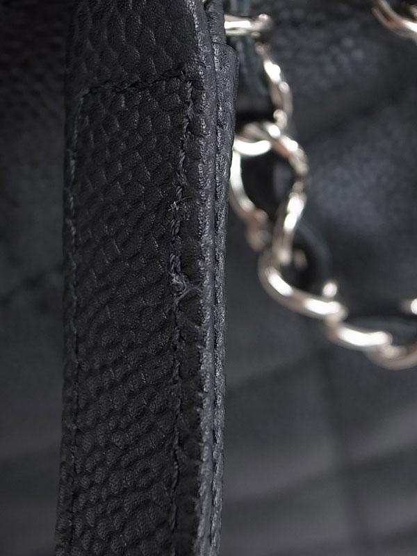 【CHANEL】【シルバー金具】シャネル『マトラッセ チェーントートバッグ』A92754 レディース 1週間保証【中古】