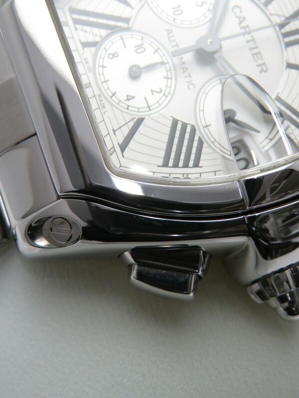【CARTIER】【仕上済】カルティエ『ロードスター クロノグラフ』W62019X6 メンズ 自動巻き 6ヶ月保証【中古】