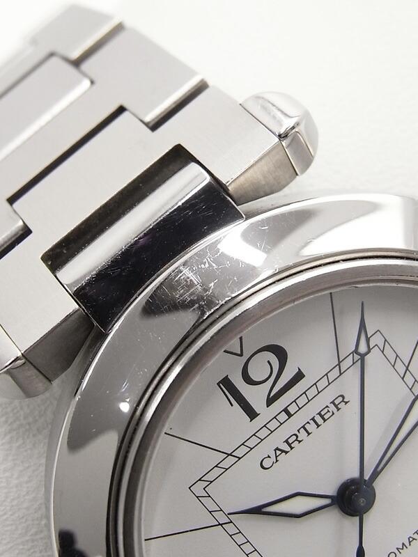 【CARTIER】カルティエ『パシャC デイト オートマティック』W31074M7 ボーイズ 自動巻き 3ヶ月保証【中古】