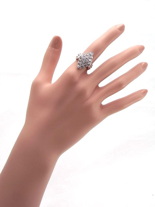 【仕上済】セレクトジュエリー『PT900リング ダイヤモンド1.01ct』12号 1週間保証【中古】