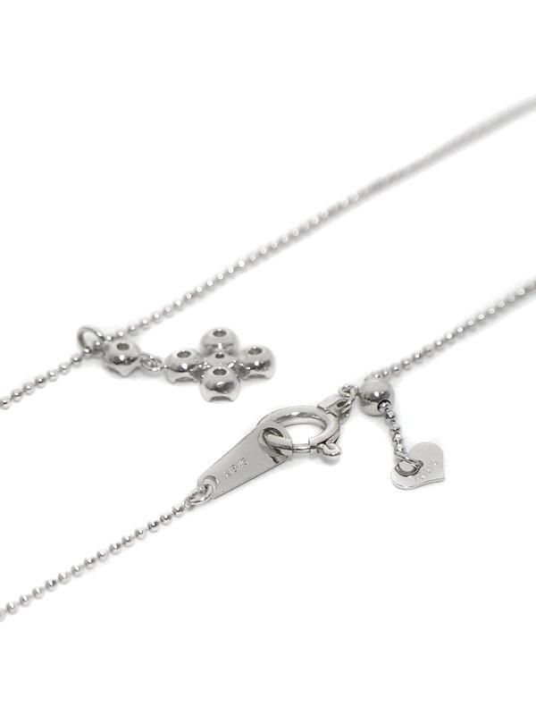 セレクトジュエリー『K18WGネックレス ダイヤモンド0.30ct』1週間保証【中古】