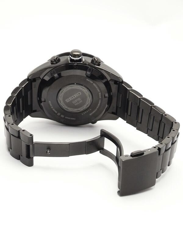 【SEIKO】【美品】セイコー『アストロン』SAST007 メンズ ソーラーGPS 1ヶ月保証【中古】