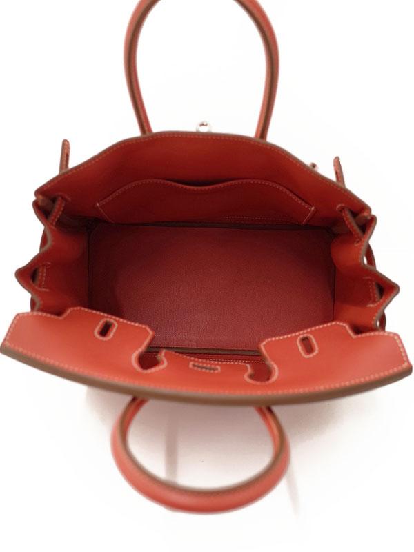 【HERMES】【シルバー金具】エルメス『バーキン25』049362CK9M T刻印 2015年 レディース ハンドバッグ 1週間保証【中古】