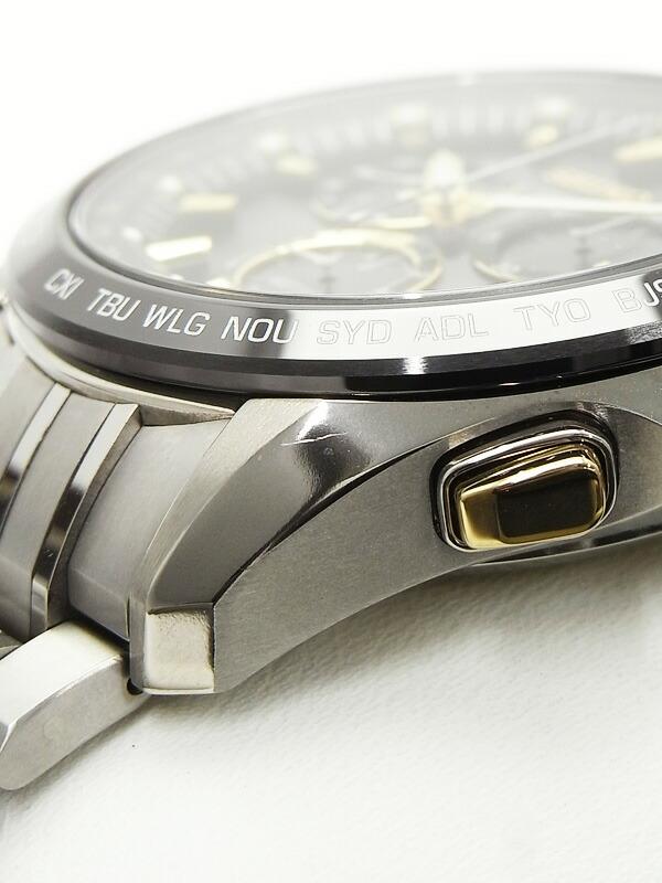 【SEIKO】【美品】セイコー『アストロン』SBXB007 メンズ ソーラーGPS 1ヶ月保証【中古】