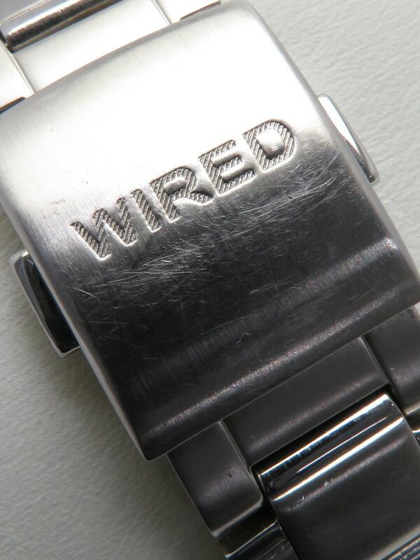 【SEIKO】【WIRED】セイコー『ワイアード クロノグラフ』AGBV139 メンズ クォーツ 1週間保証【中古】