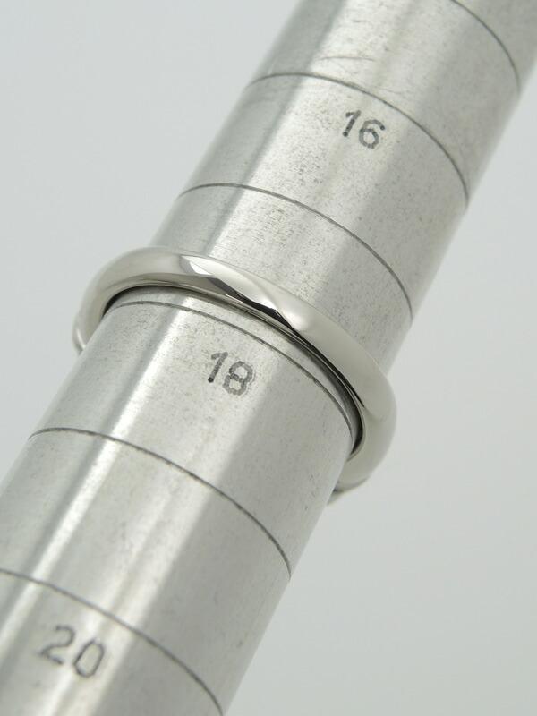 セレクトジュエリー『PT900リング サンゴ14.0mm ダイヤ0.75ct』18号 1週間保証【中古】