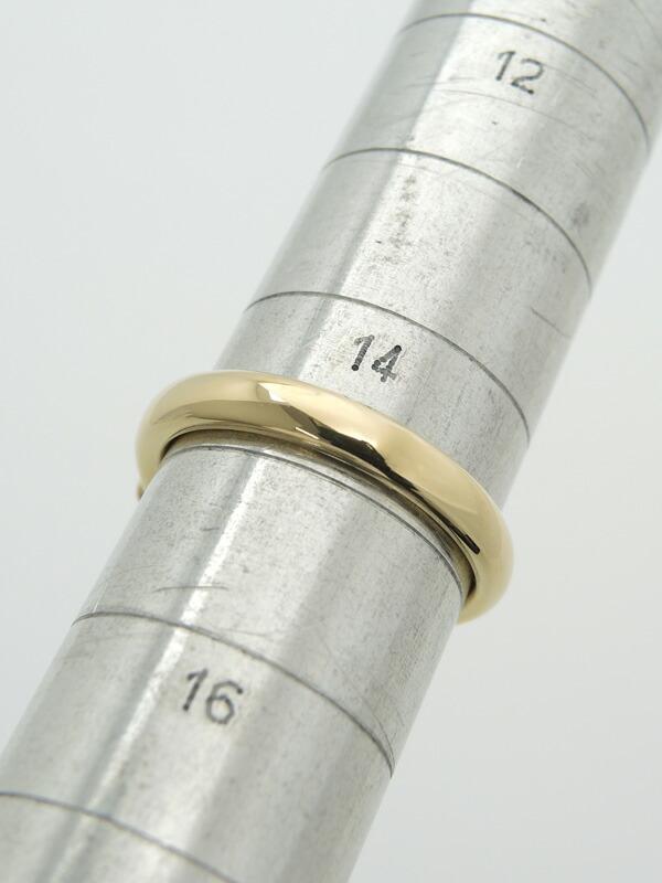 セレクトジュエリー『K18YGリング ダイヤモンド0.319ct』14.5号 1週間保証【中古】