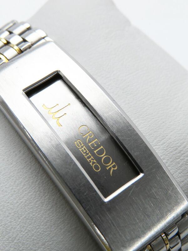 【SEIKO】【電池交換済】セイコー『クレドール パシフィーク』GCAR016 75****番 メンズ クォーツ 1週間保証【中古】