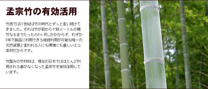 孟宗竹の有効活用