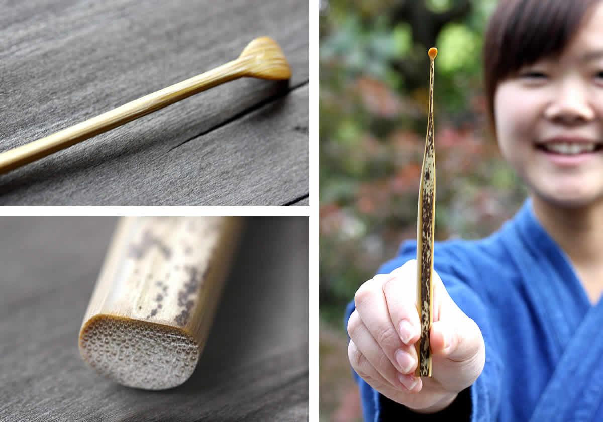 日本唯一の虎斑竹×職人芸
