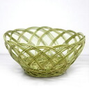 Artisan handmade arts, Japan beautiful dressing basket over several years had never seen phantom mEgo bamboo laundry basket (small)