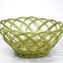 Artisan handmade arts, Japan beautiful dressing basket over several years had never seen phantom mEgo bamboo laundry basket (oversized)