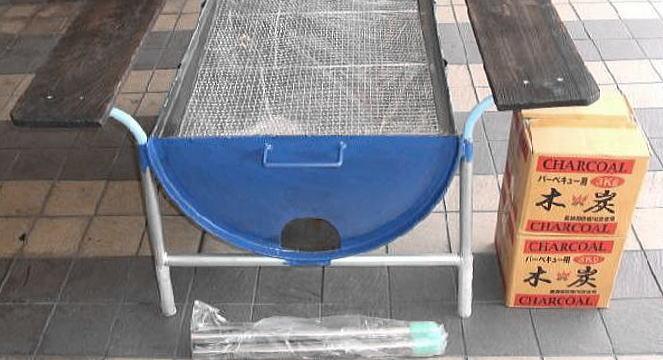 家用木炭烧烤炉设计图展示
