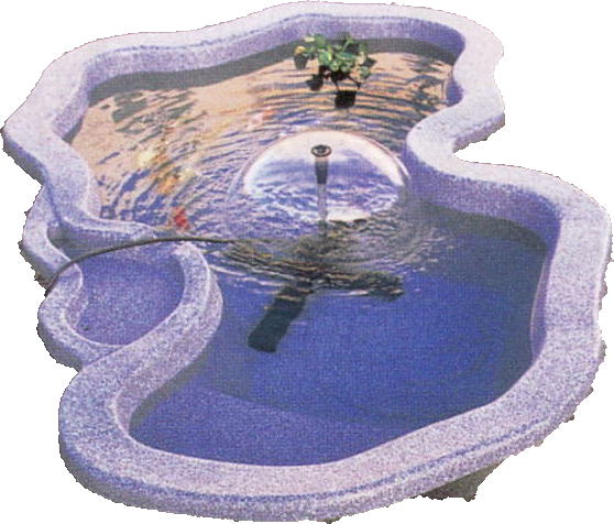 池をつくる