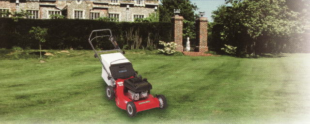 エンジン式芝刈機