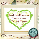 With the welcome Board completed 6702 amount welcome boards bridal 10P28oct13
