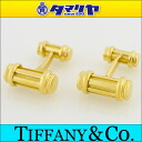 750 TIFFANY&Co Tiffany gold cuff K18 YG yellow gold men 25821005