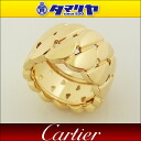 750 Cartier カルティエラドーニャ LM ring YELLOW GOLD RING LA DONA Ref.B4067154 K18 YG yellow gold Japan size 14 #54 ring woman 2622312