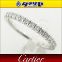 750 Cartier/ Cartier diamond (0.50ct) claw setting eternity ring Japan size approximately nine #49 K18 WG white gold Lady's rings 26460607