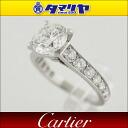 Cartier Cartier diamonds (1.50 ct H-VVS2-VG) Solitaire ring PT950 Platinum Japan size approximately 7 issue # 47 ring ladies ' 26750901