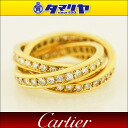 Cartier Cartier Fordia triple Trinity ring 750 K18 YG yellow gold Japan size approx. 10 No. # 50 ring 26770909