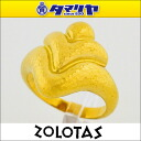ZOLOTAS Zorro TASS Greece Greece Goldring K22 YG yellow gold Japan size approximately 12 #52 Lady's 26140204