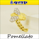 Pomellato pomellato diamond BEE bee ring 750 K18 YG yellow gold bee bee women 26801011