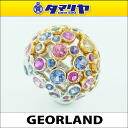 GEORLAND jorrin tanzanite (1.12 ct) Sapphire (3.73 ct) spinel and Garnet K18 Combi multi ring Ref.BAOM04672 750 K18 YG WG yellow gold white gold 25791001