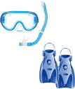 Leafs healer trip for snorkeling 3 point set RP3002 * mask + snorkel + * carrying case fin! * Silicon * same day shipping or available.