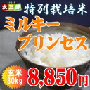Special cultivated rice Milky Princess 30 kg