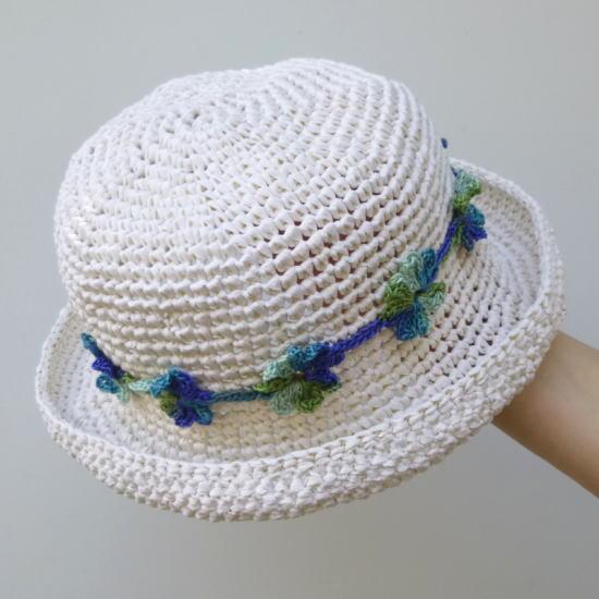 在夏天的帽子或袋 !超级纸丝带