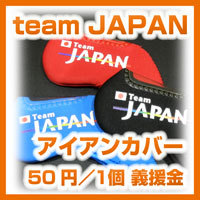Team Japan iron cover