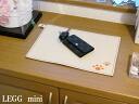 """PVC leather tie Matt """"LEGGmini"""""""